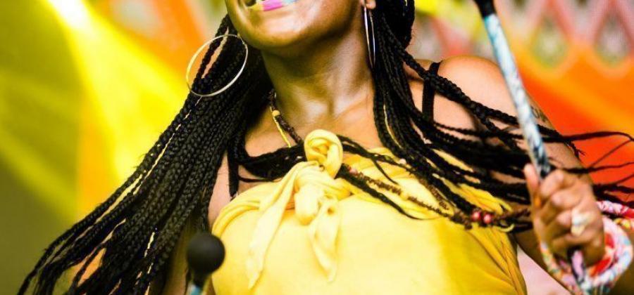Africa Oye Liverpool, Katumba woman drummer