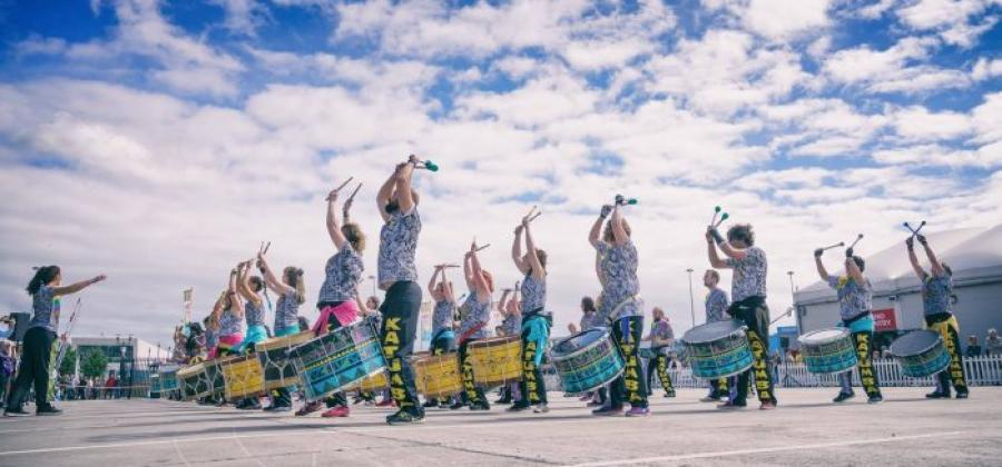 Albert Dock Katumba Drumming Group Liverpool
