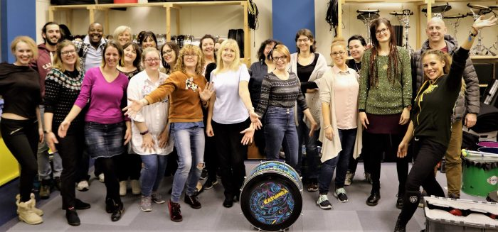 Katumba group drumming for positive mental health