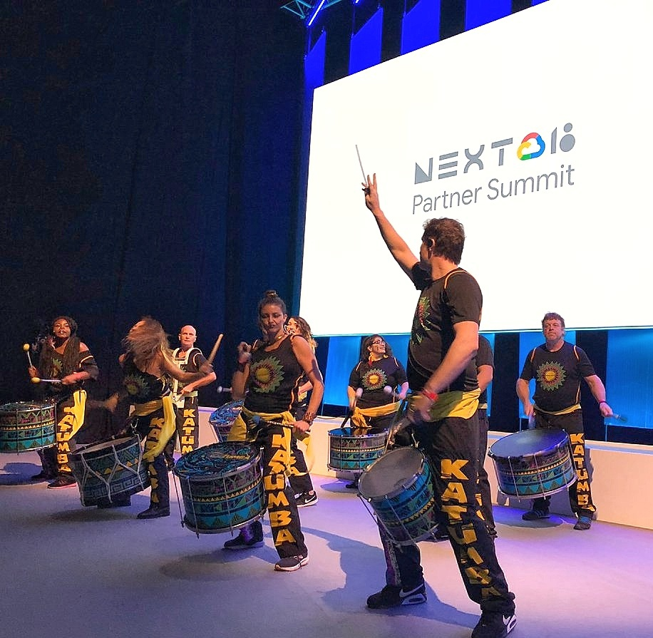 katumba drumming band google next conference