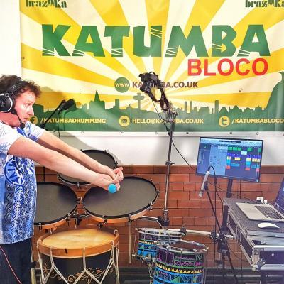 Katumba online drumming