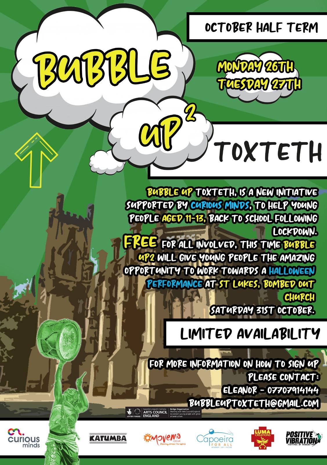 Bubble Up Flyer