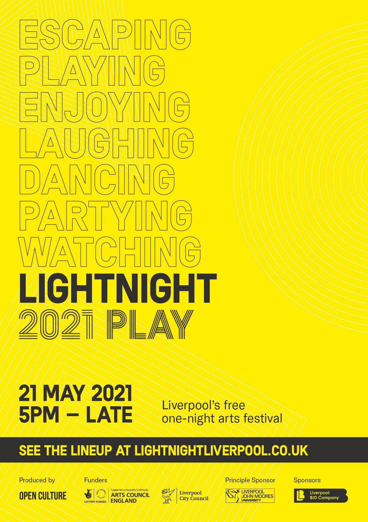 Light Night Flyer
